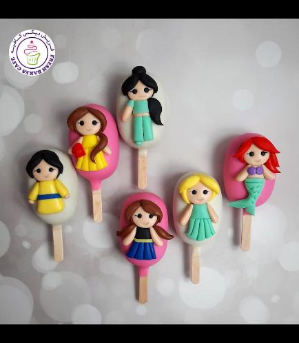 Princesses Themed Popsicakes 02