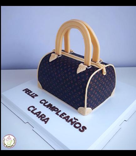 Purse Themed Cake 06a