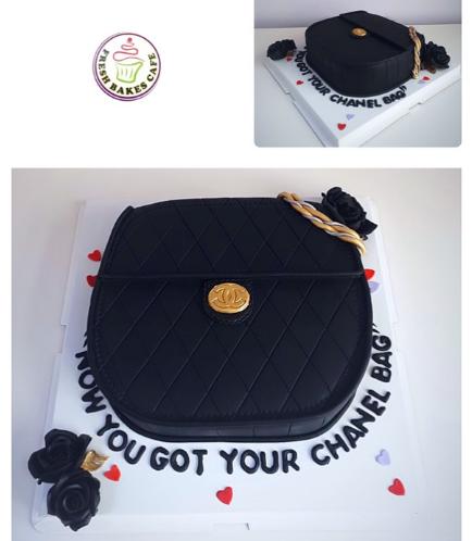 Purse Themed Cake 08