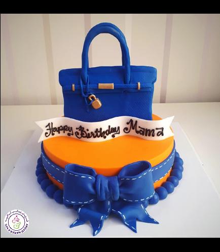 Purse Themed Cake 09