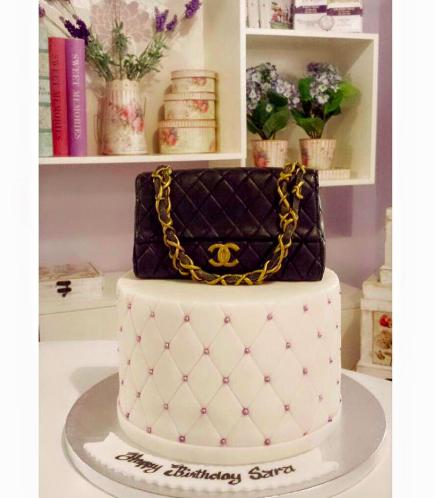 Purse Themed Cake 04