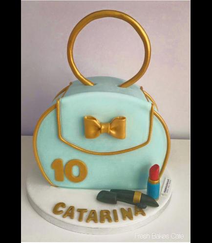 Purse Themed Cake 02