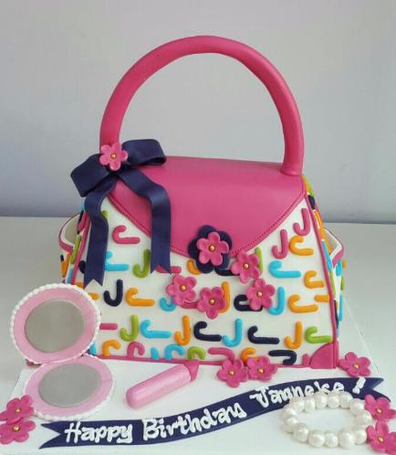 Purse Themed Cake 03b