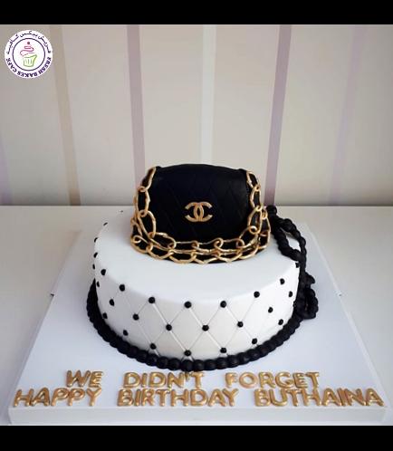 Purse Themed Cake 03