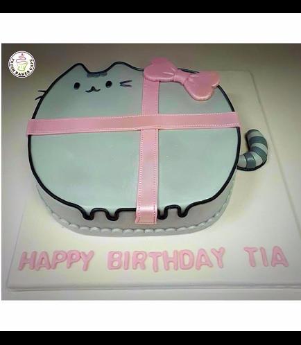 Cat Themed Cake - Pusheen 01