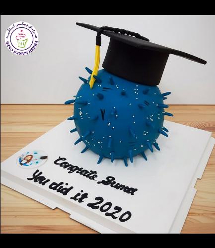 Cake - Quarantine - Virus - 3D Cake