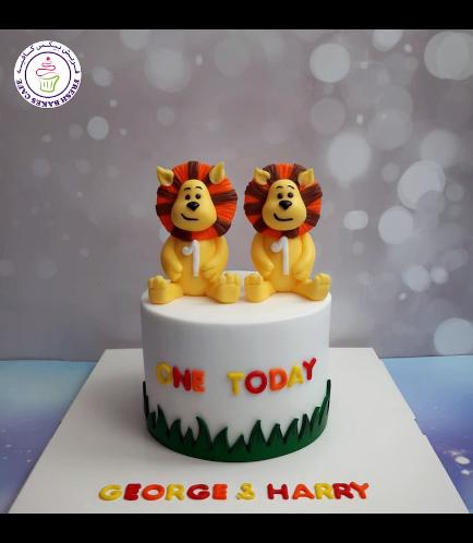 Raa Raa the Noisy Lion Themed Cake 02