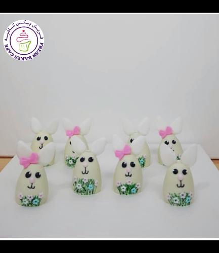Rabbit Themed Cake Pops w/o Sticks 03