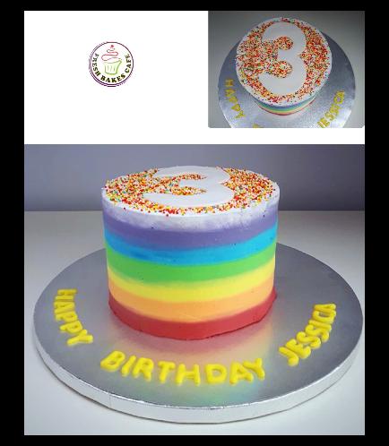 Cake - Cream 02b - Number