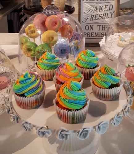 Cupcakes - Rainbow Icing 02