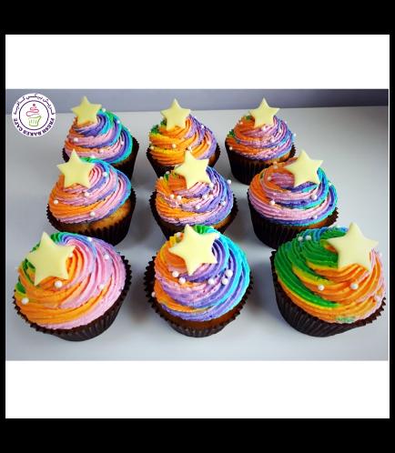 Cupcakes - Stars 05