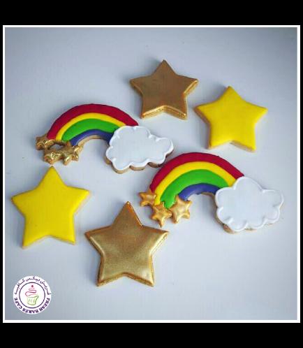 Cookies - Rainbow & Star 01