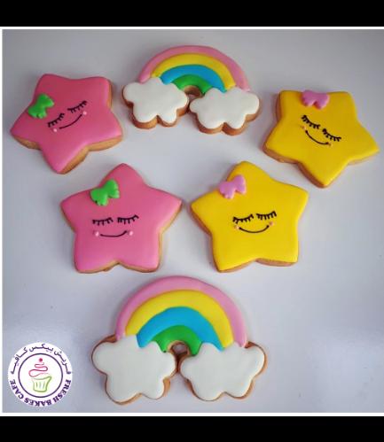 Cookies - Rainbow & Star 02