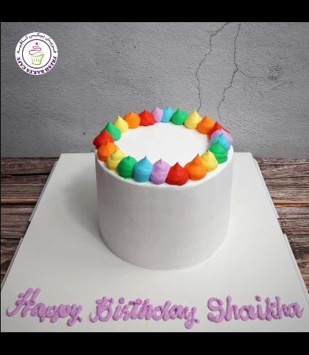 Cake - Themed Cake - Cream Piping