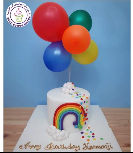 Cake - Themed Cake - Fondant - Balloons
