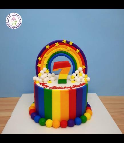 Cake - Themed Cake - Fondant - 1 Tier 01