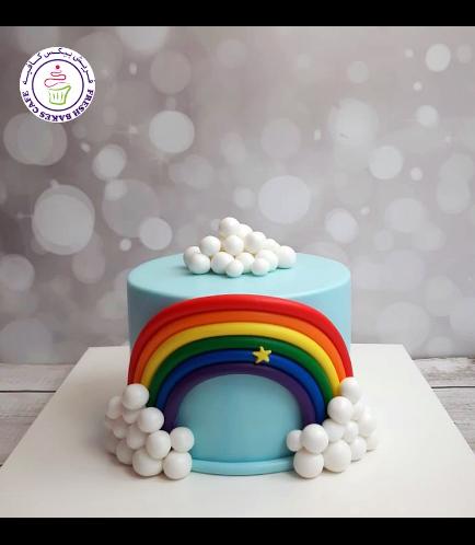 Cake - Themed Cake - Fondant - 1 Tier 09
