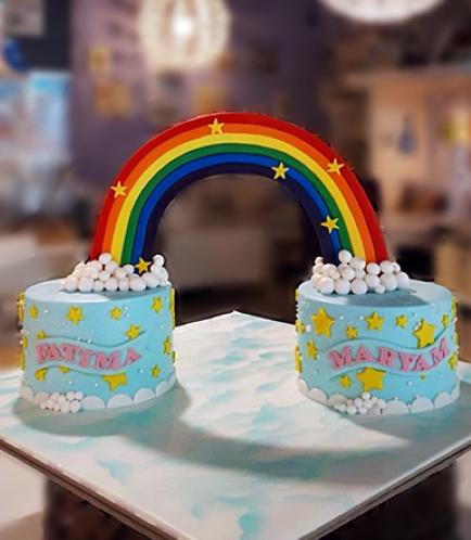 Cake - Themed Cake - Fondant - 2 Cakes