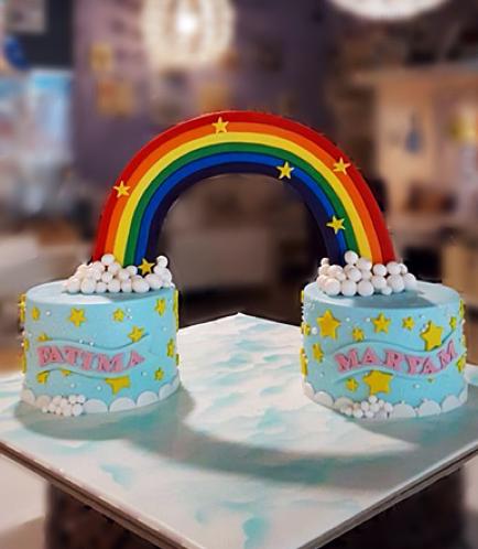 Cakes - Rainbow