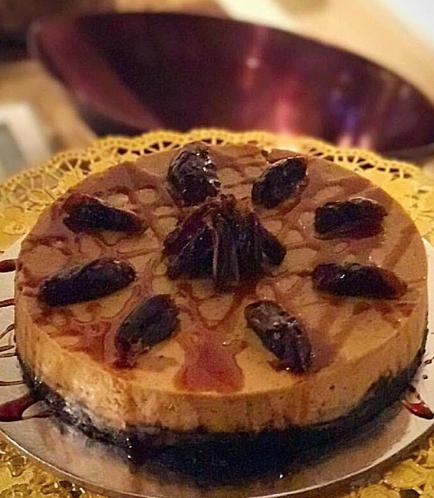 Ramadan Sweets-Dates Cheesecake