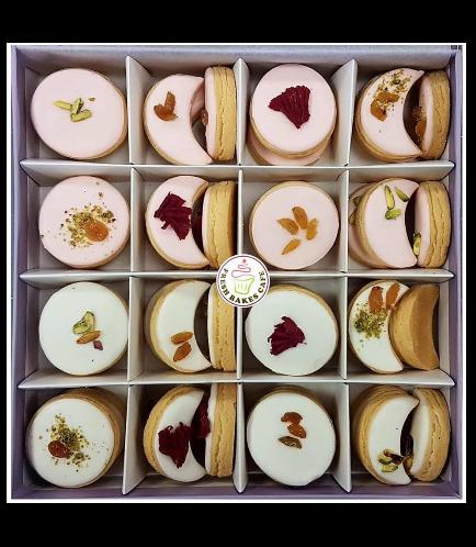 Ramadan Sweets-Rose Water Sugar Cookies