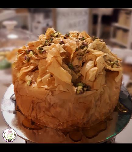 Ramadan Sweets-Baklava Cheesecake