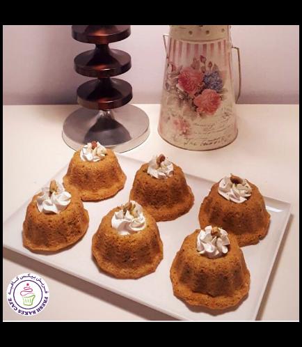 Desserts - Cake - Pistachio Cakes with Muhalabiya Filling - Minis