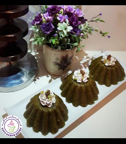 Desserts - Cake - Pistachio Semolina - Minis
