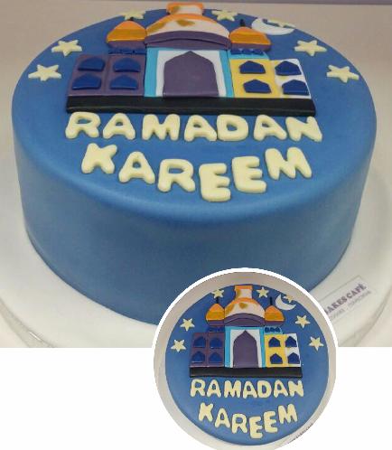 Ramadan Themed Cake 4