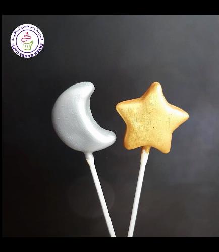 Cake Pops - Moon & Star