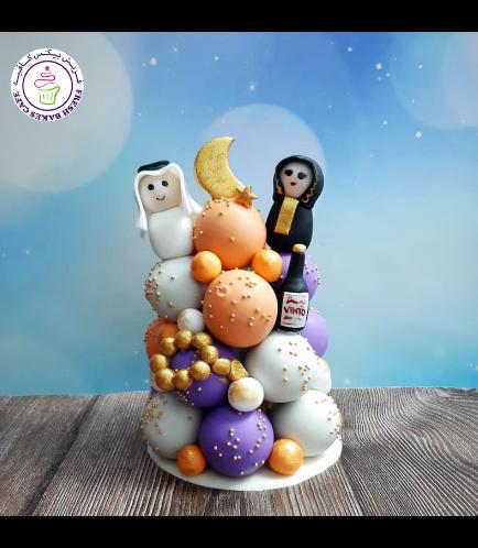 Ramadan Themed Cake Pops Tower