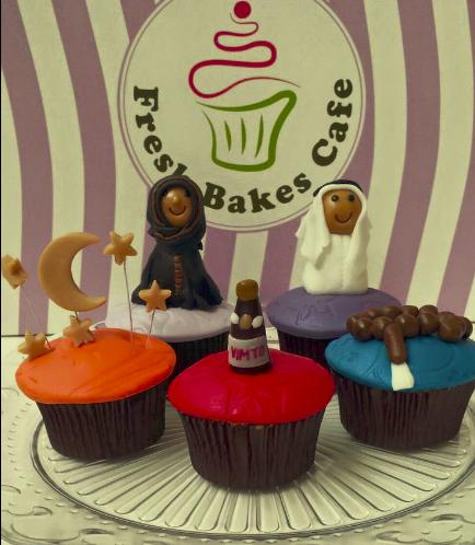 Ramadan Themed Cupcakes 1