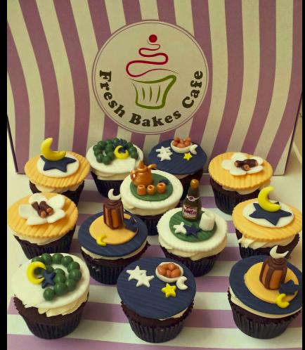 Ramadan Themed Cupcakes 2