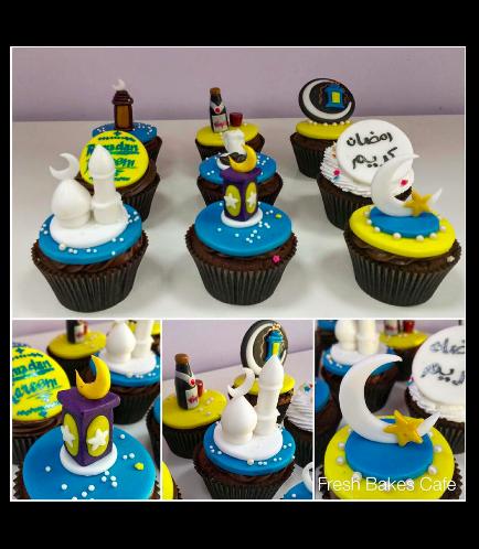 Ramadan Themed Cupcakes 4
