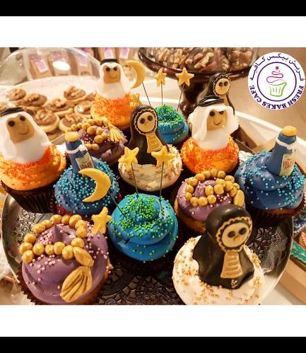 Ramadan Themed Cupcakes - 3D Toppers 04