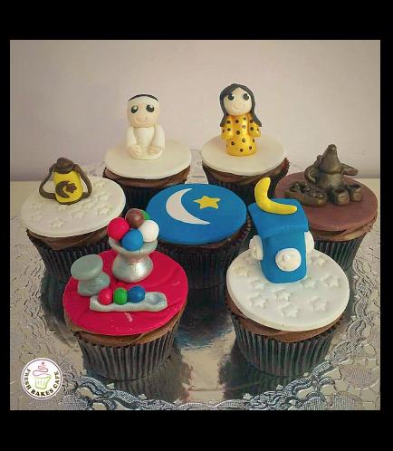 Ramadan Themed Cupcakes 10