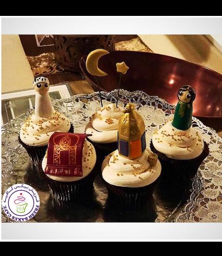 Ramadan Themed Cupcakes - 3D Toppers 06