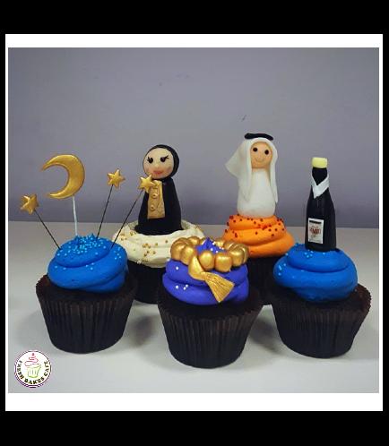 Ramadan Themed Cupcakes 5b