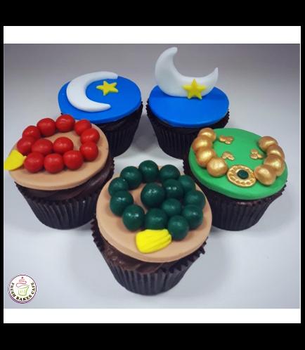 Ramadan Themed Cupcakes 7