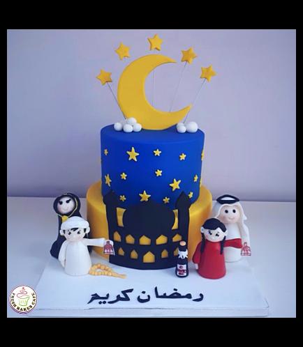 Ramadan Themed Cake 05