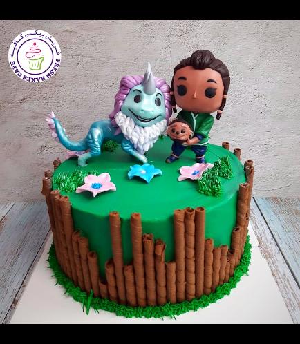 Raya & the Last Dragon Themed Cake