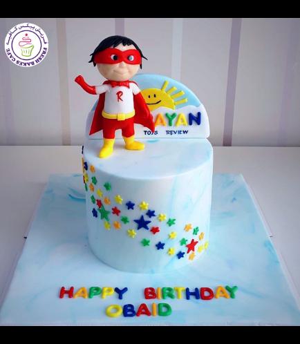 Ryan ToysReview Themed Cake