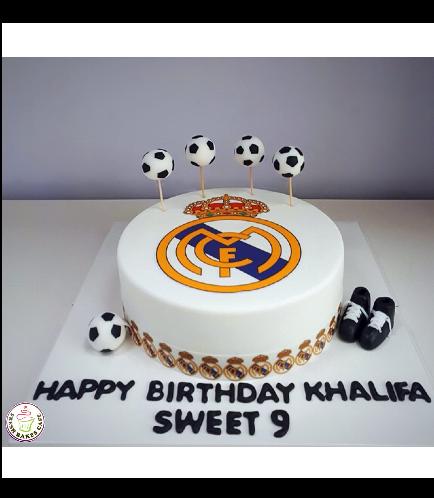 Real Madrid Logo Themed Cake 4