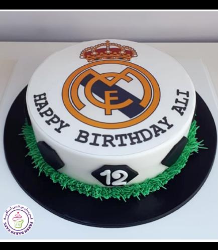 Real Madrid Logo Themed Cake 5