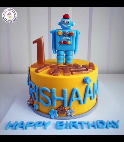Robot Themed Cake 02