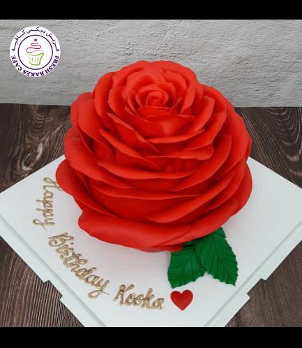 Cake - Rose - 3D Cake
