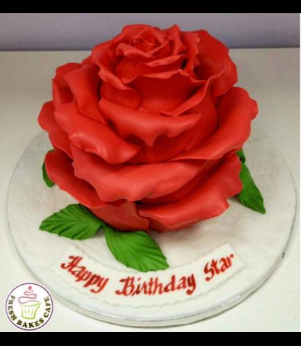 Cake - Rose 3D