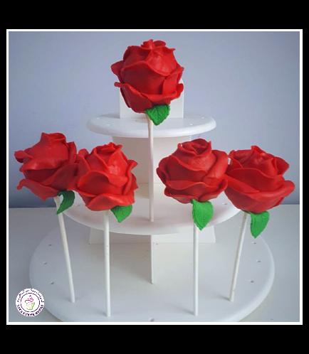 Cake Pops - Roses 03