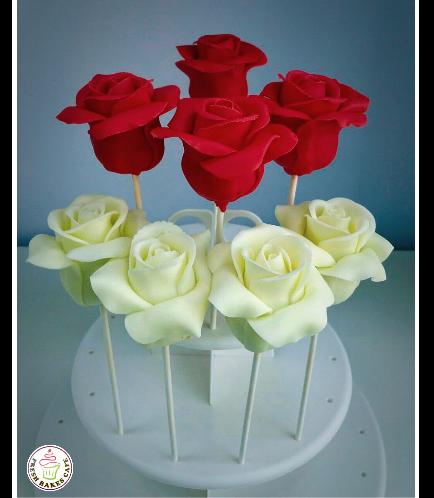 Cake Pops - Roses 04