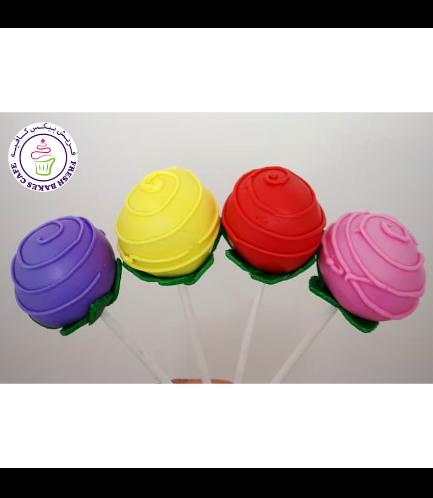 Cake Pops - Roses 01b